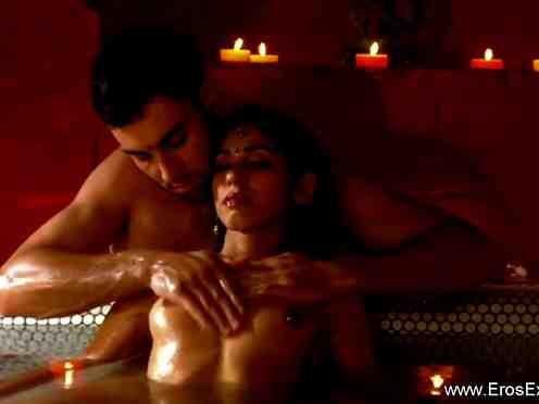 Indian romantic couple