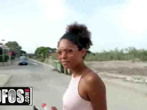 Stranger Fucks Real Ebony Girl